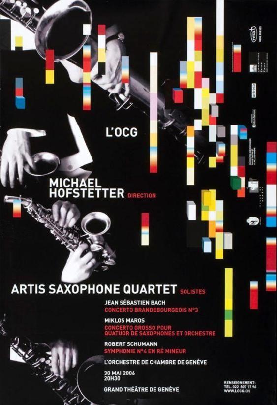 L'OCG - Michael Hofstetter - Artis Saxophone Quartet – Suchergebnisse – Suche nach Objekte – eMuseum