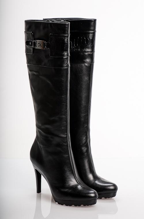 Calvin Klein Elsa Ostring Leg, Black www.fashionstore.fi