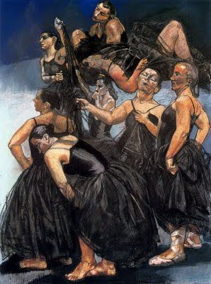 Paula Rego's Crows Figure in 'Out of the Blue'