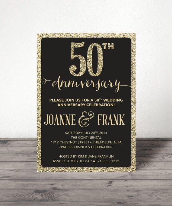 14 best 50th wedding anniversary images on pinterest 50th wedding wedding anniversary invite 25th 30th 40th by creativeuniondesign golden anniversarydiamond anniversary50th wedding anniversaryparents stopboris Image collections