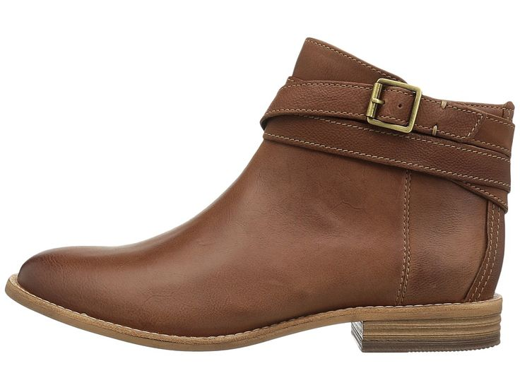 Clarks Maypearl Edie Women's Boots Dark Tan