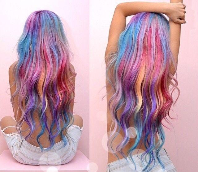 Pastel hair #in #love