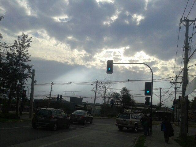 Nubes celestiales