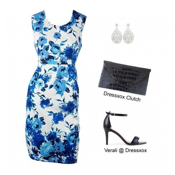 Jemmy Painterly Floral Dress