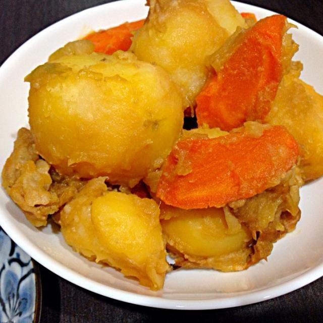 レシピとお料理がひらめくSnapDish - 6件のもぐもぐ - じゃがいも 煮物 by vivi