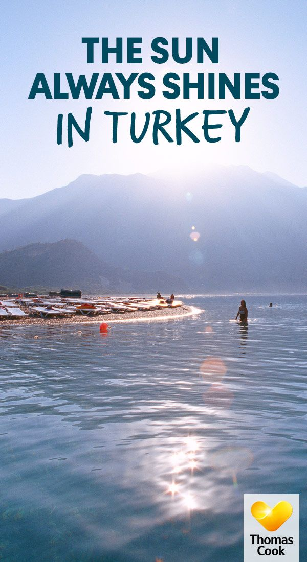 Need a little sunshine escape - with glorious sunshine in the summer months, and mild temperatures during the winter, see why Turkey is the perfect destination for you!