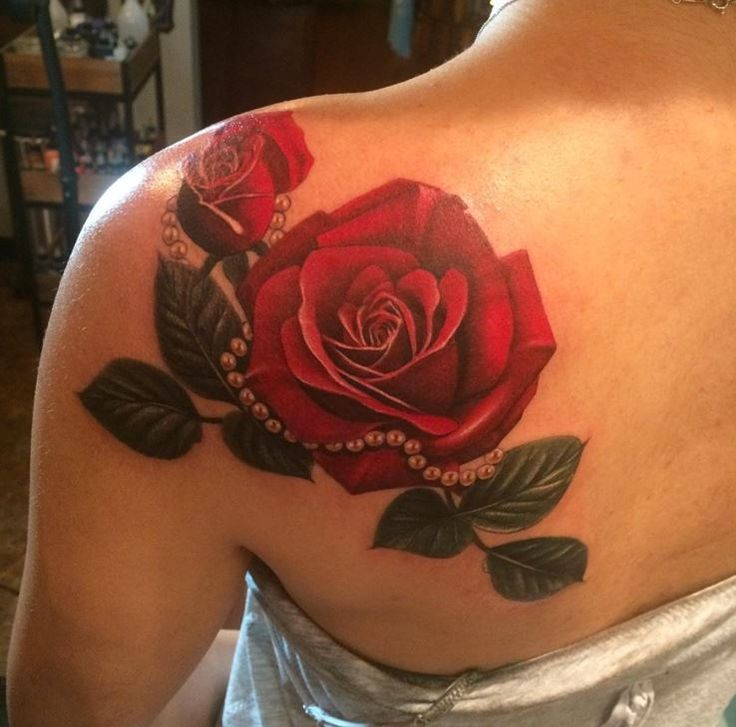 Best 25 girl shoulder tattoos ideas on pinterest for Rose tattoo on back shoulder