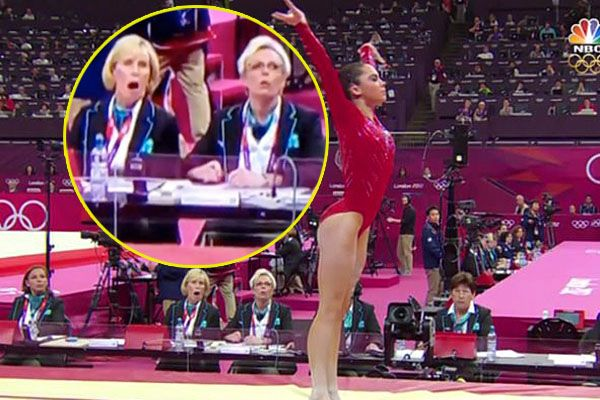 McKayla Maroney's jaw dropping vault