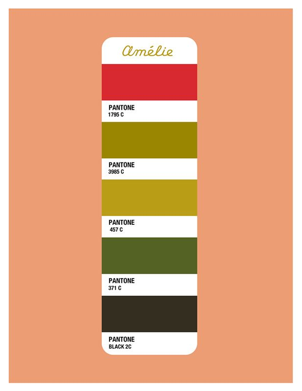 Amelie Color Palette - Beth Mathews Design                                                                                                                            More