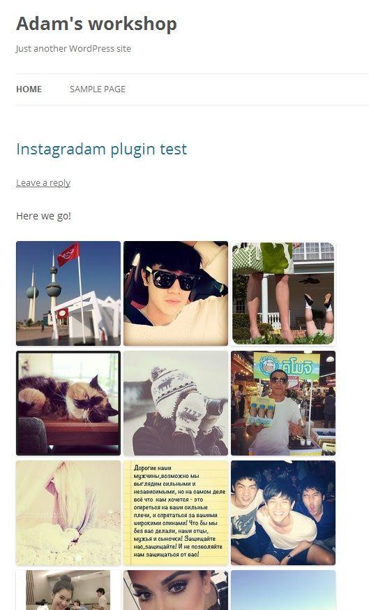 #Tutorial - Creating an #Instagram #WordPress Plugin