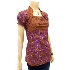 Image result for long dress batik modern 2015