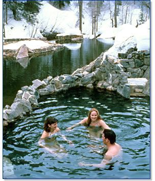 Steamboat Springs, CO - Strawberry Park Hot Springs worth the $10