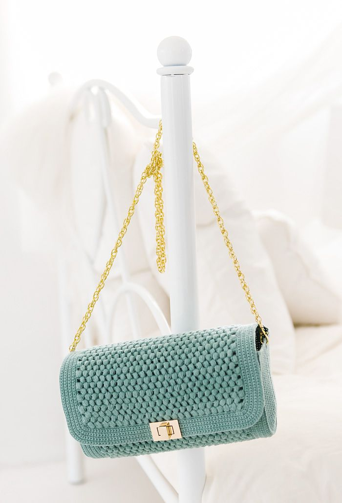 crochet Shoulder Bag free pattern
