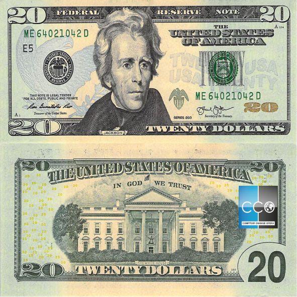 Portrait de : Président Andrew Jackson