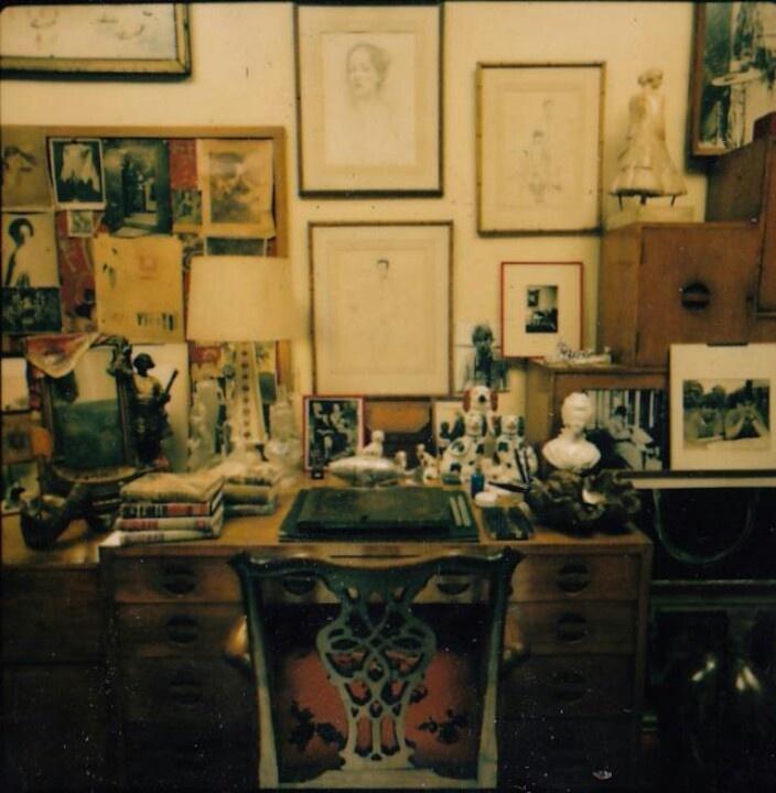 DV's desk
