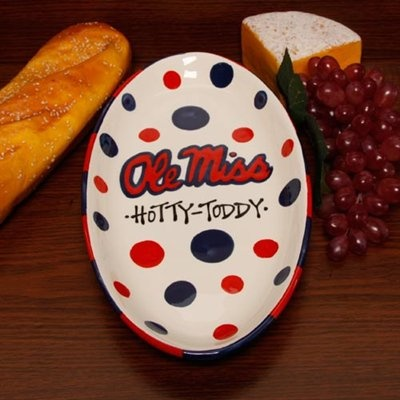 Ole Miss Rebels Ceramic Platter