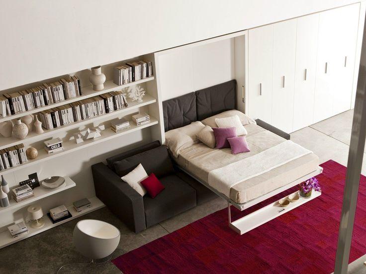 Выбираем мебель-трансформер для квартиры: обзор самых комфортных и функциональных решений http://happymodern.ru/mebel-transformer-dlya-kvartiry/ Шкаф-кровать трансформер с диваном, это идеальный вариант для малогабаритных квартир