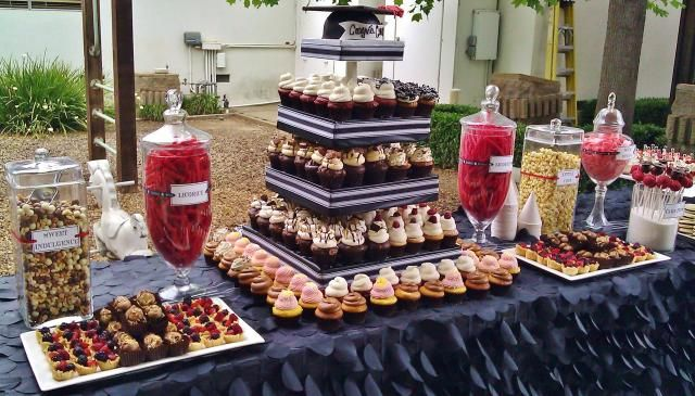 Graduation Desserts And Dessert Tables On Pinterest