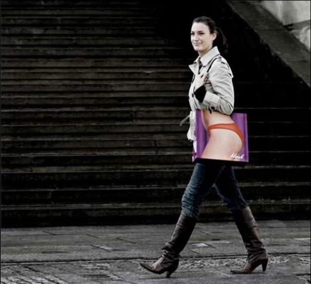Creatively funny bag