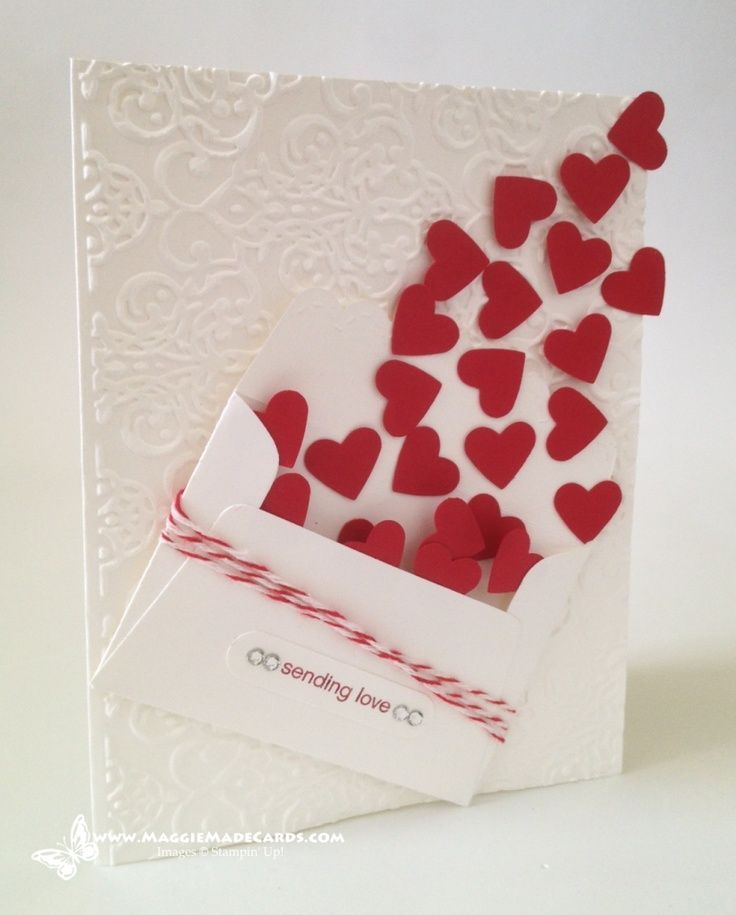 Stampin' Up! a hand made Love card & Blog Candy Reminder