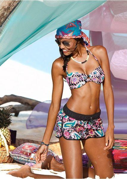 Plážové šortky S elastickou pasovkou a • 379.0 Kč • Bon prix