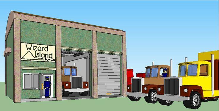 Every truck fleet needs a shop!