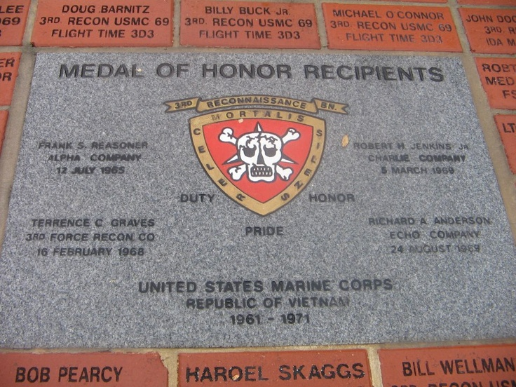 Medal of Honor Recipients 3rd Recon BN Vietnam United