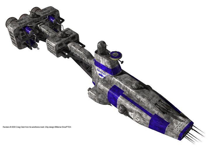 Earth Alliance Hyperion Cruiser: A Very