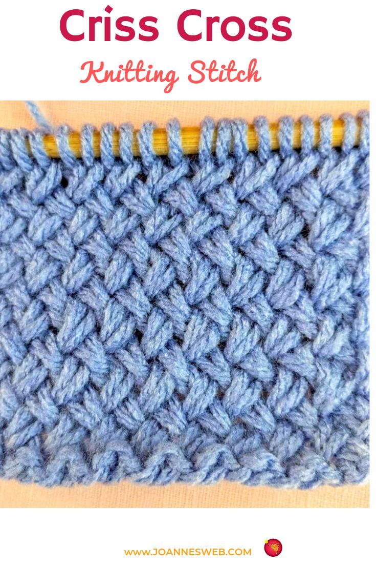 Right Diagonal Knit Purl Combination - A Nice Stitch Pattern