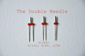 no big dill: Double Needle