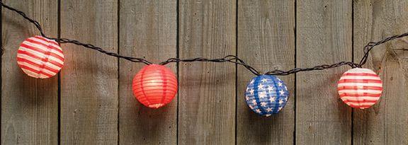 Patriotic Lantern Lights | KP Creek Gifts