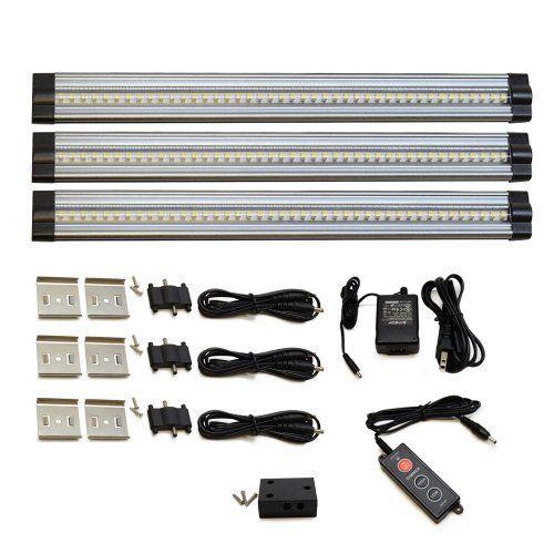 3 lightkiwi 12 inch warm white modular led under cabinet lighting panel lightkiwi
