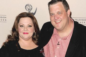 "Melissa McCarthy Billy Gardell The Academy Of Television Arts & Sciences Presents An Evening With ""Mike & Molly"" - Arrivals"