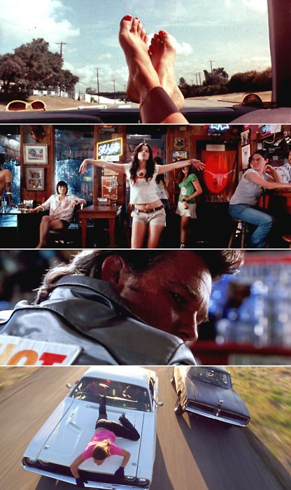 Death Proof - anybody who has surfed a car knows how much fun that bottom scene was and the rest of the movie for that matter