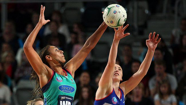NORTHERN Mystics defender Anna Harrison sent netball into a spin on Sunday by using a rugby lineout tactic to successfully block shots at goal in her team's 49-45 win over Melbourne Vixens at Hisense Arena.