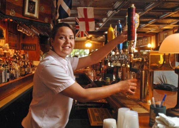 -Six Pence Pub on Bull Street is a true Savannah St. Patrick's Day classic. (File photo)