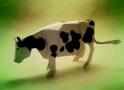 #Cow Holstein #paper #art $6.45