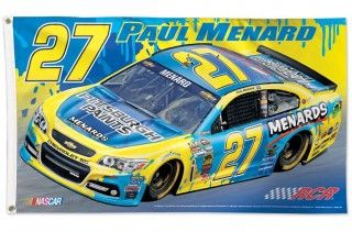 Paul Menard Pittsburgh Paints 3x5 Flag