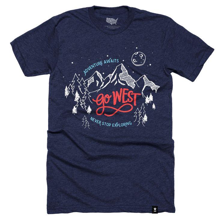 go west t shirt - T Shirt Design Ideas Pinterest