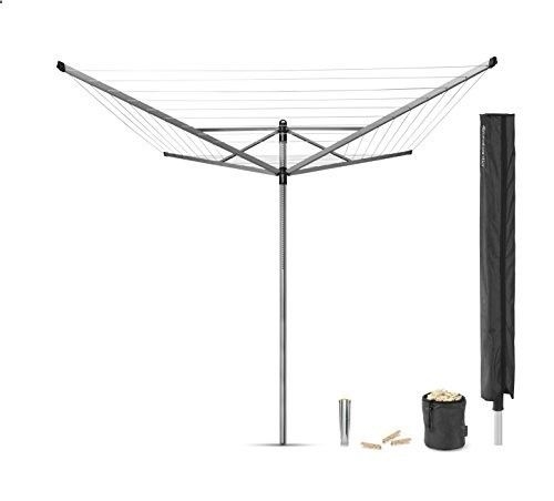 Brabantia Lift-O-Matic Rotary Airer with Accessories 50 m Silver Brabantia Lift Matic Rotary Accessories is ranked high among the best selling products in Kitchen category in UK. Click below to see its Availability and Price in YOUR country.