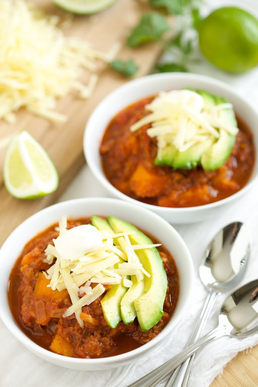 Gluten Free Slow Cooker Meals! Perfect for a busy school year. Crockpot Sweet Potato Chili by GI 365 & more!
