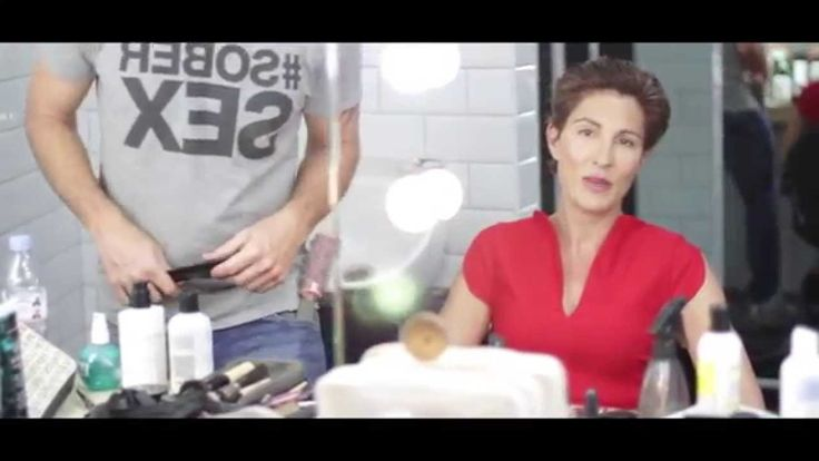 Tamsin Greig transforms into Pepa Marcos -Behind the Scenes video shot here in the studios