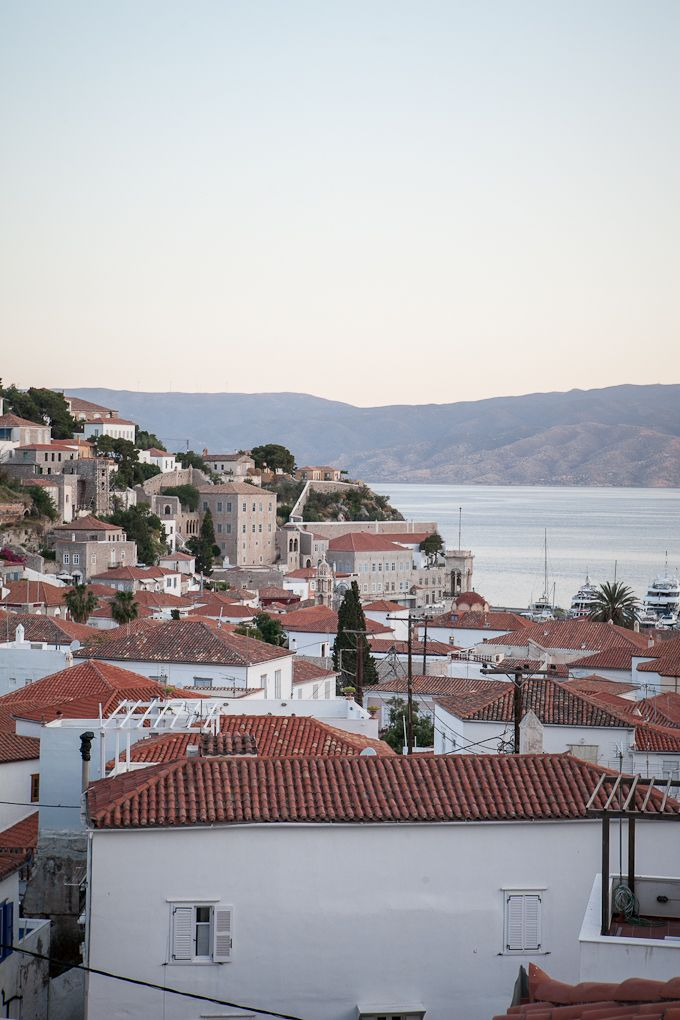 Hydra Greece, view from my window