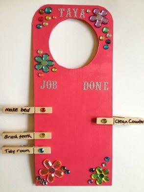 20 best Door hangers for kids images on Pinterest | Door hangers ...