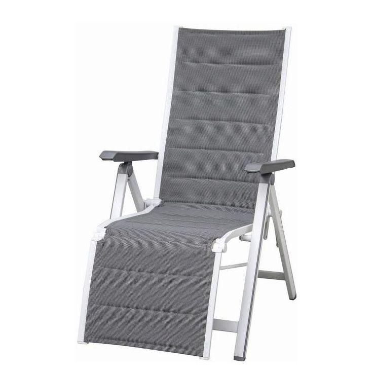 Simple Klappstuhl Futosa Relax Aluminium Textilene Wei Grau Siena Garden Jetzt bestellen