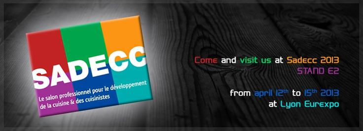 Sadecc is the french show entirely dedicated to the kitchen, its components and accessories.  Airforce is pleased to welcome you to the stand E2 of this important exhibition, that will take place from April 12th to 15th 2013 at the Eurexpo in Lyon.