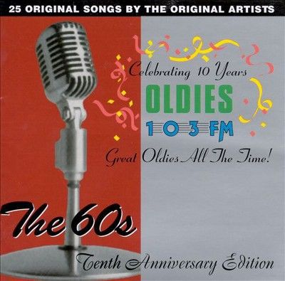 Various Artists - Wods Oldies 103 Boston, Vol. 2: The 60's - Tenth Anniversary Edition (CD)