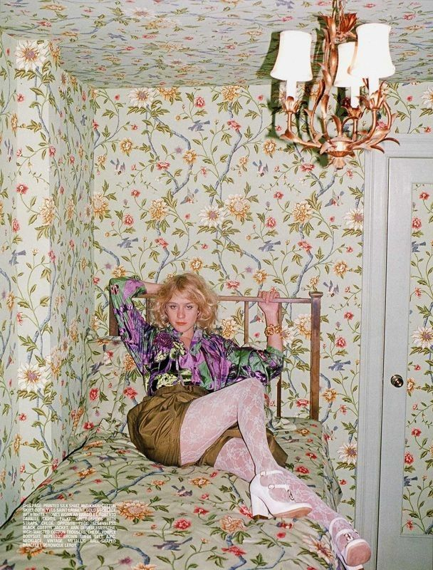 Chloe Sevigny at home