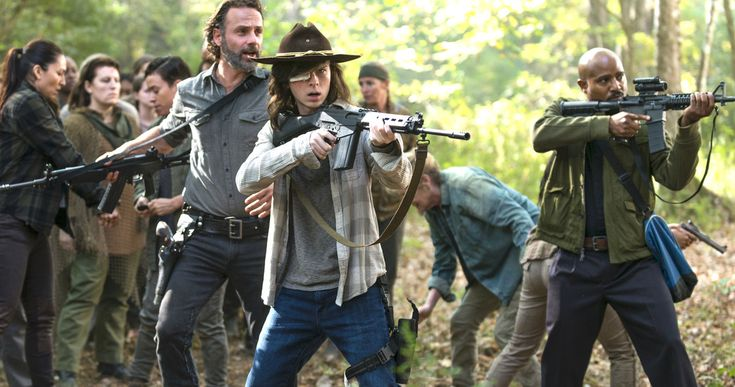 Walking Dead Easter Egg Hints at a Major Death in Midseason Finale -- Last night's episode of The Walking Dead dropped a big Easter Egg that may have sealed the fate of Father Gabriel Stokes on the show. -- http://tvweb.com/walking-dead-season-8-father-gabriel-death-easter-egg/