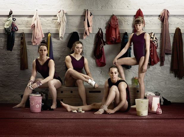 TeamGB ladies olympic gymnastic team